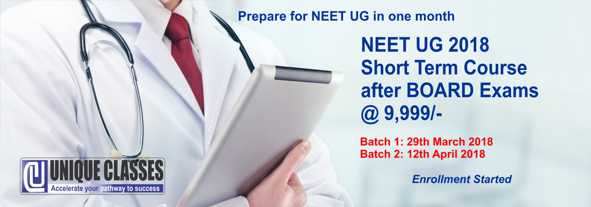 NEET UG 2018 Short Term Course